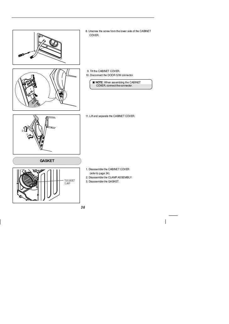 Lg Intellowasher Washing machine manual