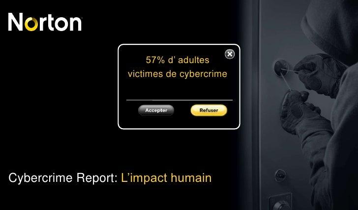 Rapport Norton sur l'impact de la Cybercriminalité