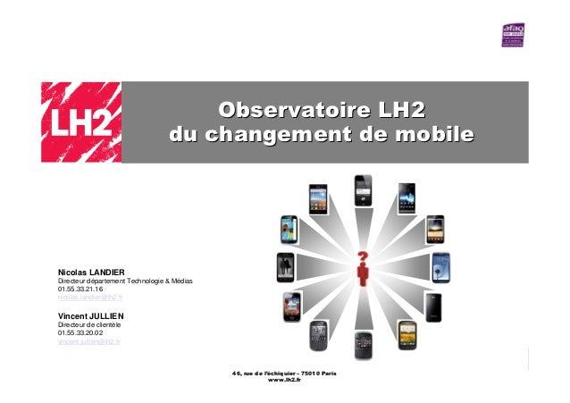 Lh2 observatoire du changement de mobile