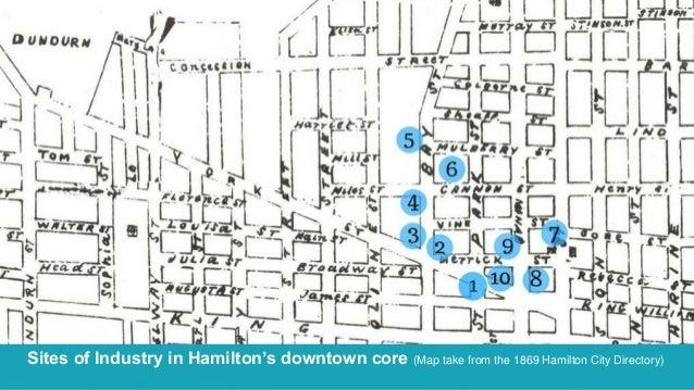 Made in Hamilton 1867 Walking Tour