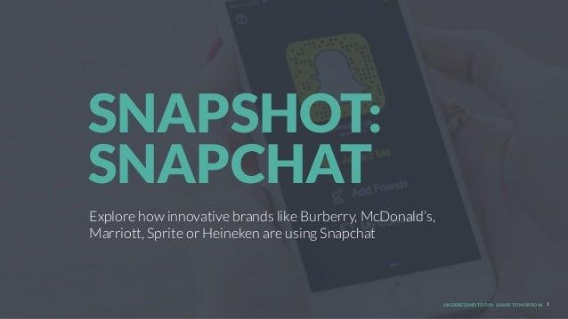 UNDERSTAND TODAY. SHAPE TOMORROW. Explore how innovative brands like Burberry, McDonald's, Marriott, Sprite or Heineken ar...