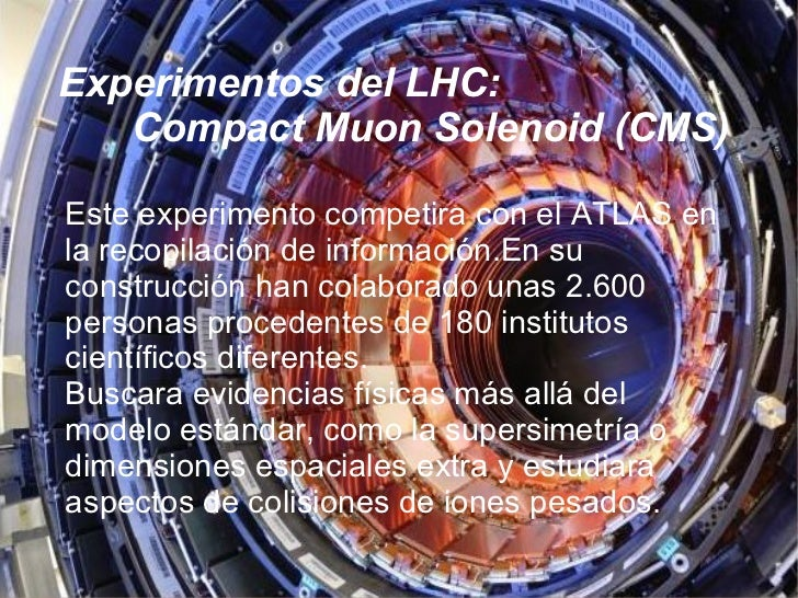 a report on the large hadron collider lhc and the large hadron collider beauty lhcb experiment Introduction to the large hadron collider experiment the most powerful physics experiment ever built, the large hadron collider will re-create the conditions just after the big bang in an.