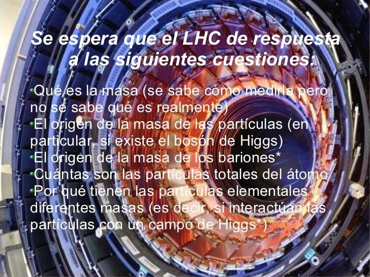 Resultado de imagen de El LHC