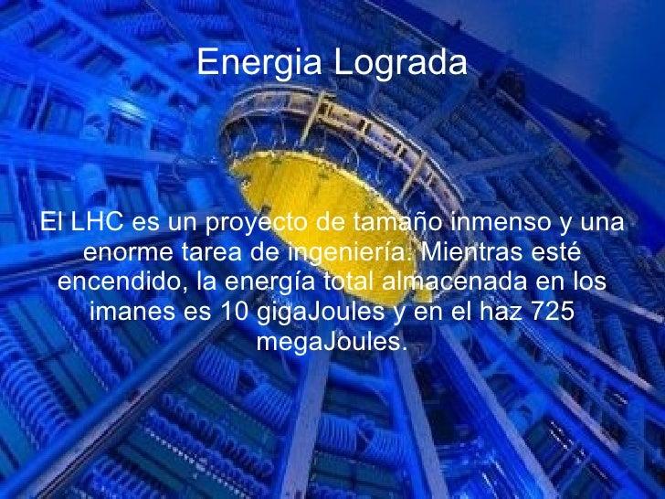 Resultado de imagen de El inmenso LHC