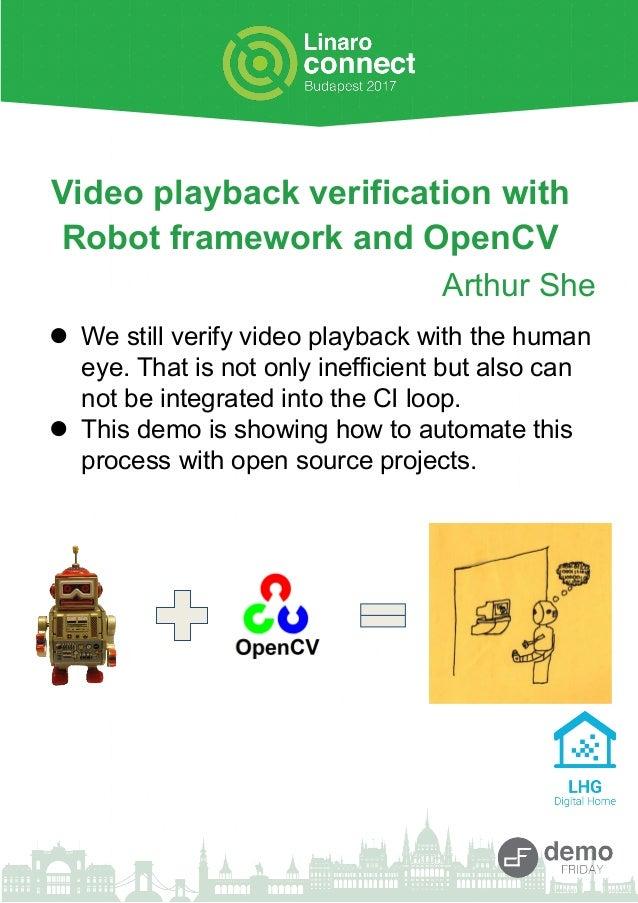OpenCV & Robot Framework