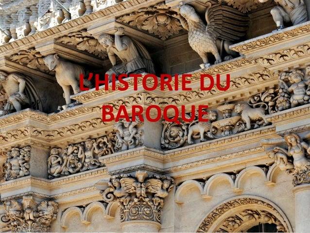 L'HISTORIE DU BAROQUE