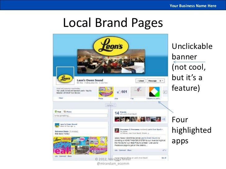 Your Business Name HereLocal Brand Pages                              Unclickable                              banner     ...
