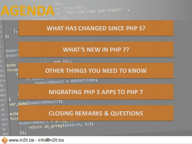 Getting hands dirty with php7 Slide 3