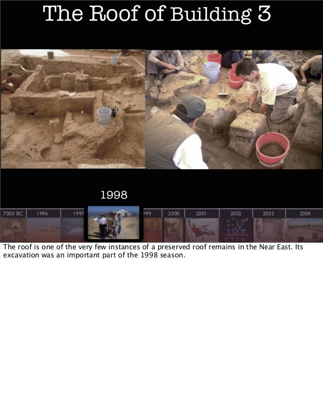 The Roof of Building 3  1998 7000 BC  1996  1997  1998  1999  2000  2001  2002  2003  2004  The roof is one of the very fe...