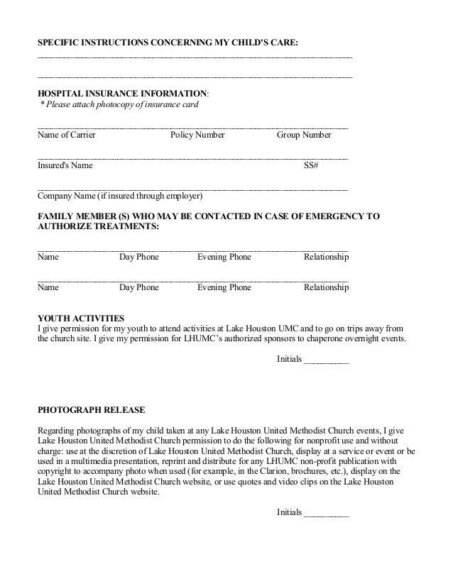 Medical Release Form. Medical Release Form 2 Lhumc Medical Release ...