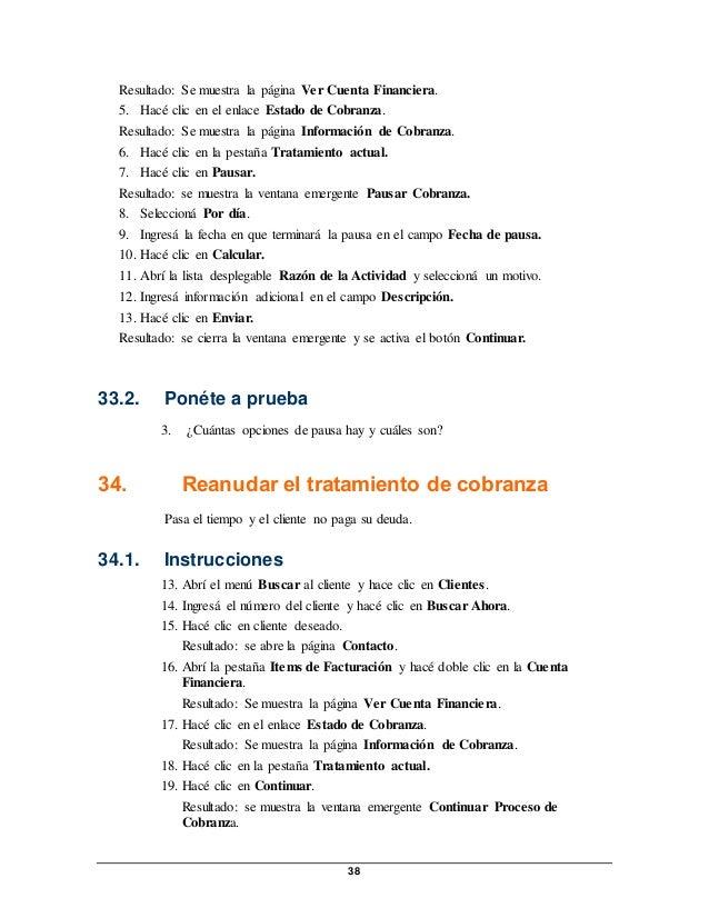 Manual de ejercicios pospago 31072014