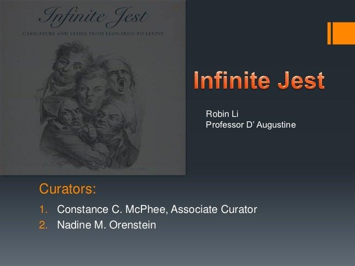 Robin Li                               Professor D' AugustineCurators:1. Constance C. McPhee, Associate Curator2. Nadine M...