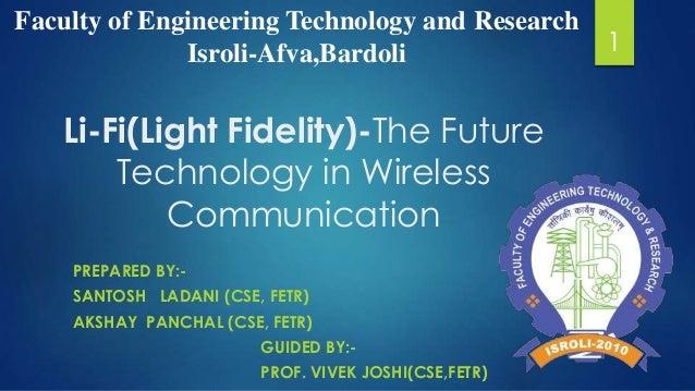 Li fi(light fidelity)-the future technology in wireless