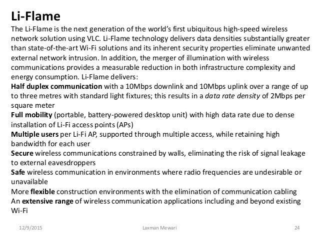 Li fi (light fidelity)-the future technology in wireless ...