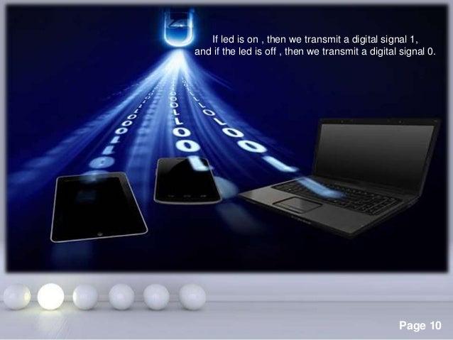 Li fi powerpoint templates toneelgroepblik Choice Image