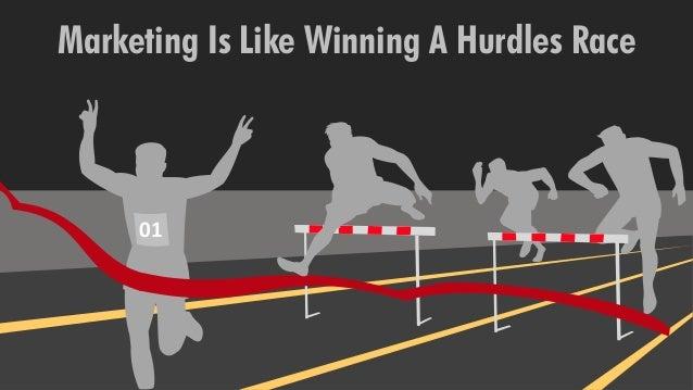 01 Marketing Is Like Winning A Hurdles Race