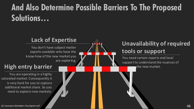 And Also Determine Possible Barriers To The Proposed Solutions… You need certain reports and local support to understand t...