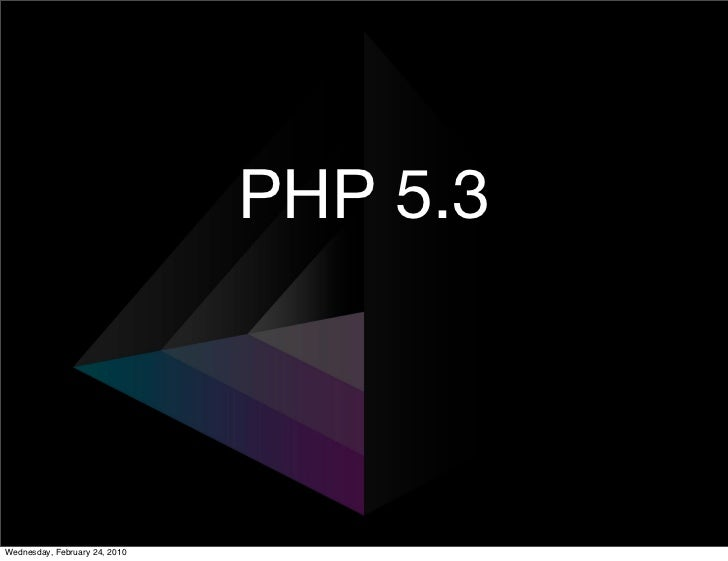 PHP 5.3 and Lithium: the most rad php framework Slide 2