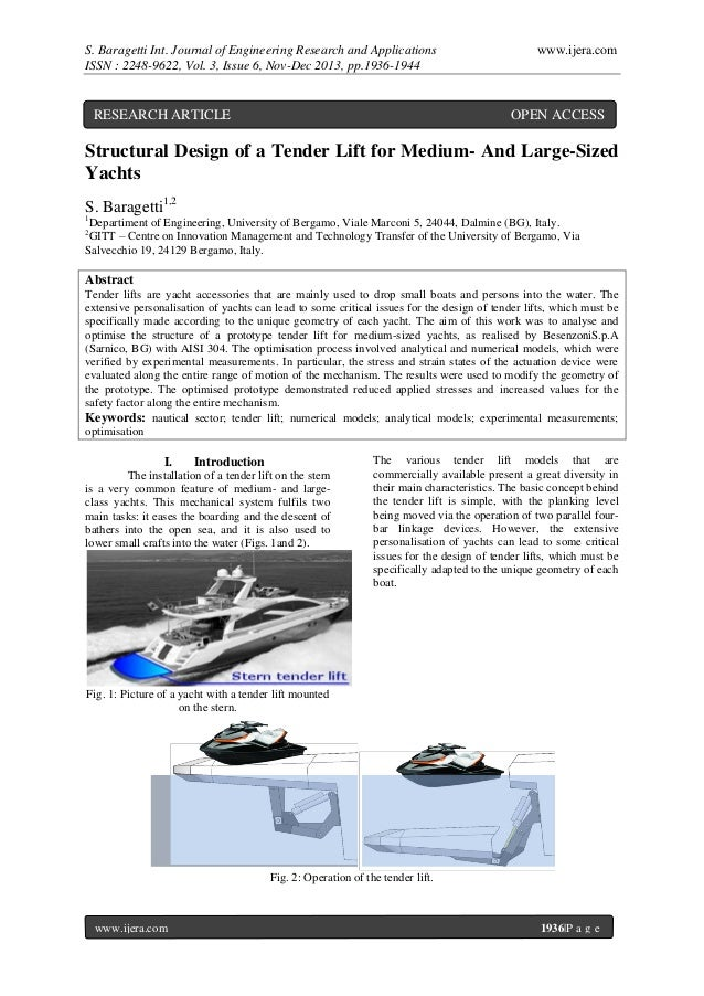 S. Baragetti Int. Journal of Engineering Research and Applications ISSN : 2248-9622, Vol. 3, Issue 6, Nov-Dec 2013, pp.193...