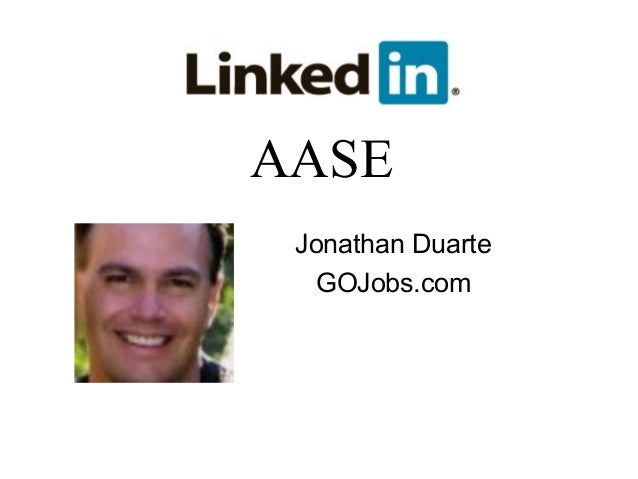 AASE Jonathan Duarte   GOJobs.com