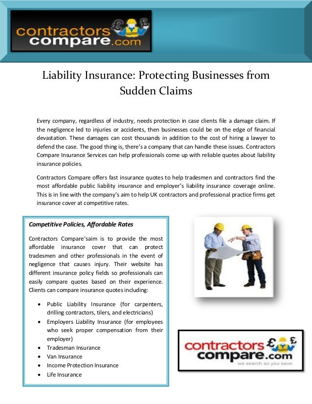 Liability Insurance: Protecting Businesses from Sudden Claims Every company, regardless of industry, needs protection in c...