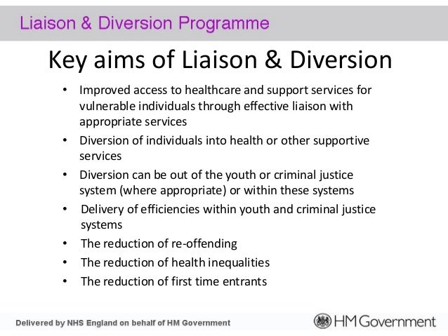 diversion in criminal justice Restorative justice » about restorative justice » tutorial: intro to restorative justice » lesson 5: implementation issues » diversion or net-widening some fear that restorative programmes could result in sanctions imposed on people (especially youth) who would have simply been left alone if restorative sanctions did not exist.