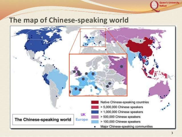 European benchmarks for the chinese languages the application of ce queens university belfast 3 the map of chinese speaking world 333 uk europe gumiabroncs Gallery