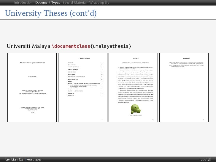 lyx document classes thesis I've just started experimenting with lyx in preparation for my thesis as a trial, i'm hoping to re-write my cv with lyx (to ensure that editing it is easy in the future.