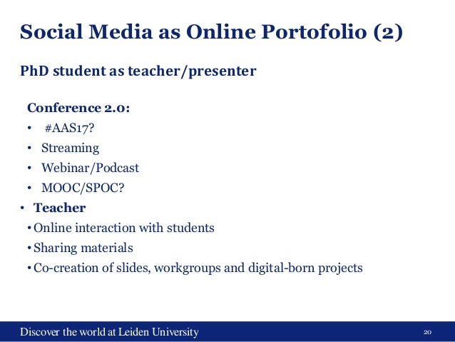 UBL & LIAS library lectures - Social Media