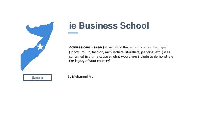 ie business school mba essays London business school is a close-knit program with an international focus, set in one of the most exciting centers of culture in europe among one of the.