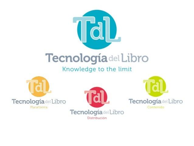 Presentación TDL Liber 2013 Slide 2