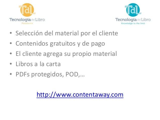 Presentación TDL Liber 2013 Slide 3