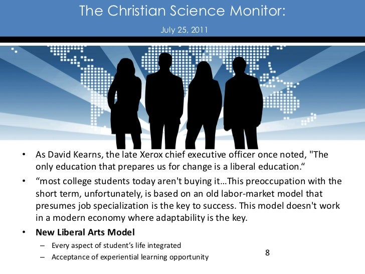 The Christian Science Monitor:                                      July 25, 2011• As David Kearns, the late Xerox chief e...