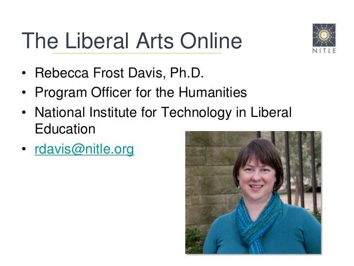 Liberal arts online
