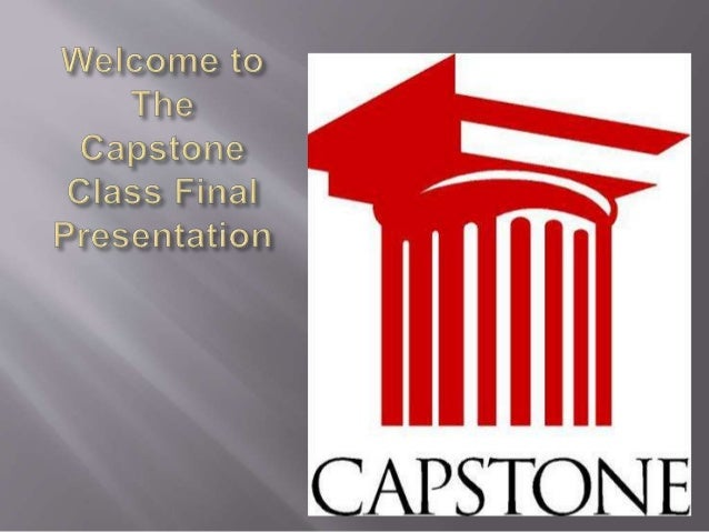  The Capstone Program is the final componant of our learning. It provides students with the opportunity to demonstrate th...