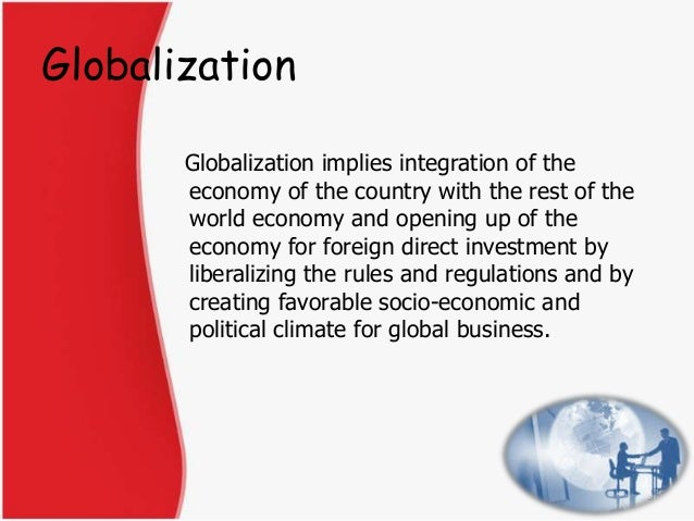 changing role of public administration in the age of globalisation