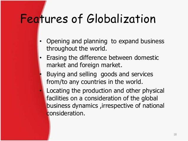 importance of liberalisation