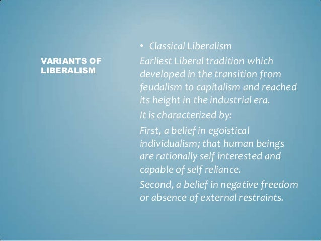 classical liberalism essay example The classical liberal perspective will not solve classical liberalism was the political philosophy of the for example, krugman,conscience of a liberal.