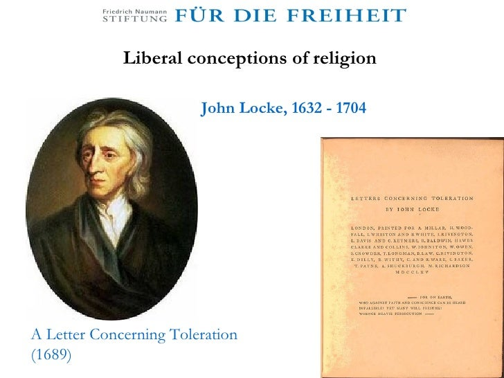 locke letter concerning toleration liberalism and secularism may 2009 23459