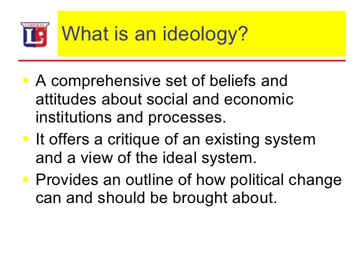 an analysis of the origins of socialism and the ideology of a comprehensive set of beliefs That between capitalism and socialism  an ideology will be defined here as an interconnected set of beliefs  count systematically for the origins of ideology22.
