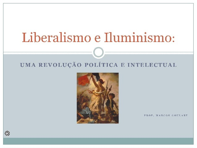 Liberalismo e Iluminismo:   ________________________________________________________________________________________ __ Q ...