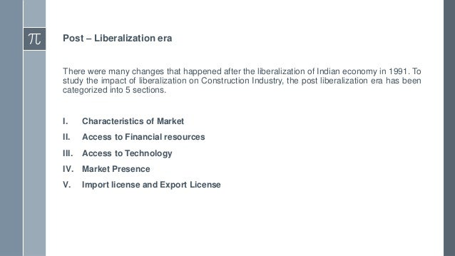 The study on indian financial system post liberalisation
