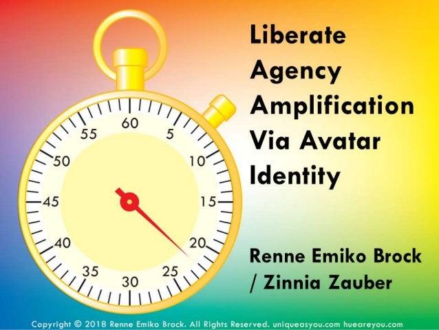 Liberate Agency Amplification Via Avatar Identity
