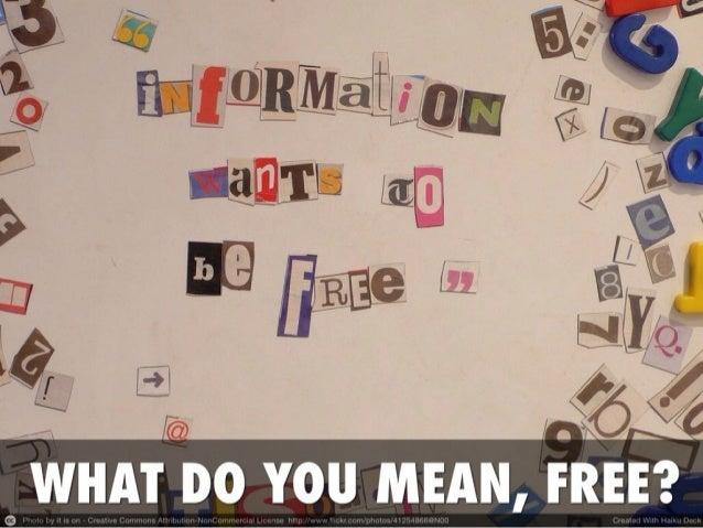Liberating your data Slide 3