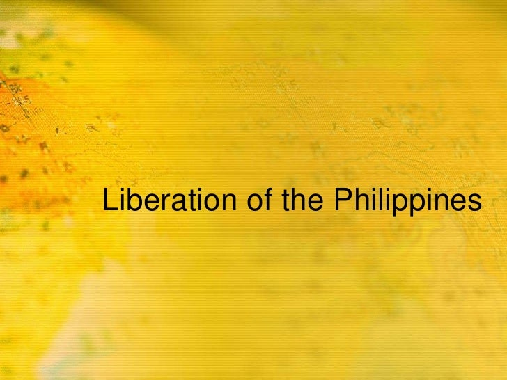 Liberation of the Philippines<br />