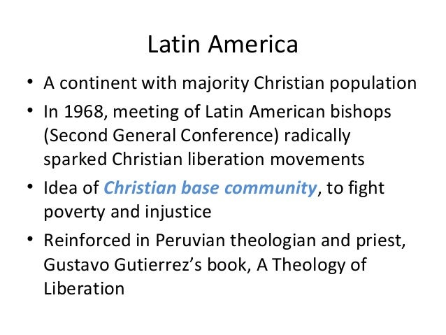 The Second Vatican Council, liberation theology, and the Vatican-liberation theology dialogue