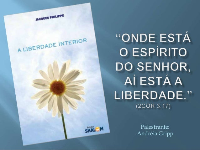 Palestrante: Andréia Gripp