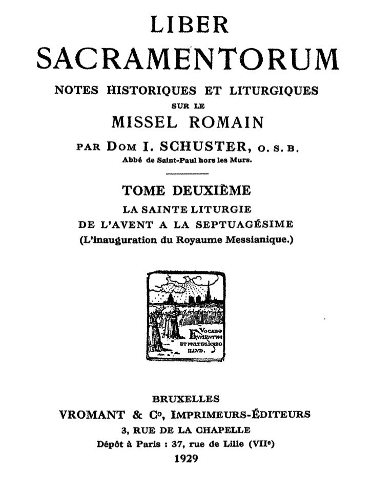 LIBERSACRAMENTORUMNOTES HISTORIQUES E T LITURGIQUES                         SUR LE          MISSEL             ROMAIN   PA...