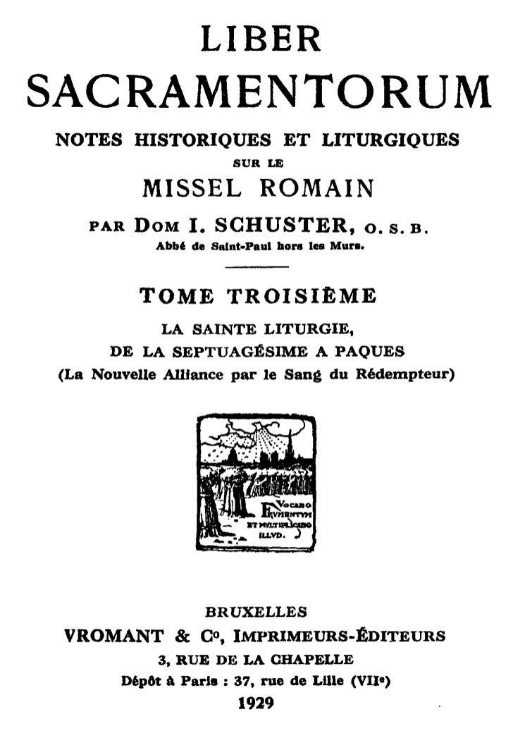 LIBERSACRAMENTORUMNOTES    HISTORIQUES             E T LITURGIQUES                          SUR LE          MISSEL        ...
