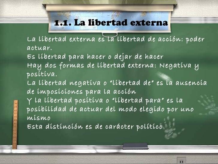 Libertad for La accion educativa en el exterior